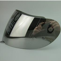 Wholesale Motorcycle Helmet Full Face Visor - VCOROS for AGV K3 k4 full face shield motorcycle helmet visor Rossi moto helmets lens clear black silver Plated blue not for AGV K3 SV