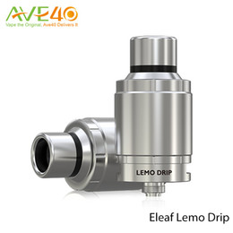 Wholesale Detachable Dripping - Original Eleaf Lemo Drip RDA Tank Detachable Structure No Thread Connection Rebuildable Dripping Atomizer with Wide Open Build Space