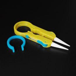Vaper Twizer VI Wrapping Coiler Adjustment Wire Spanner Tool Pinzas de cerámica aisladas para DIY ecig Mods Vapor RDA desde fabricantes