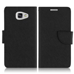 Wholesale A5 Photo Frames - Newest PU Leather Wallet Case Flip Cover Card Pocket with Photo Frame for Samsung Galaxy A7 2016 Samsung Galaxy A5 with OPP Packaging