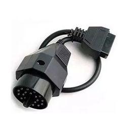 Wholesale Diagnostic E36 - Fcarobd OBD 2 OBD II Adapter Cable For bmw 20 Pin Male to OBD2 16 Pin Female Connector e36 e39 X5 Z3 Extension Cable Diagnostic Tool