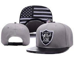 Wholesale Snapback Hats Raiders - Oakland Adjustable new Snapback Hat many Snap Back Hat For Men Basketball Cap Cheap raider Hat Adjustable men women Baseball Cap