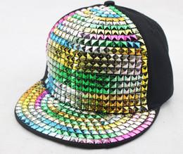 Wholesale Diamond Snapback For Girls - 2017 Diamond Kids Snapback caps Hats For Children Baby Baseball Cap Boys Girls Boy Hip Hop Hat