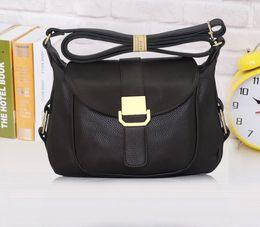 Wholesale Messanger Handbags - Vogue 2016 Female Leather Women Handbag High Quality Fashion Lady Shoulder Bags Totes Messanger Bag Free Shipping