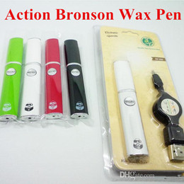 Wholesale Dhl Free Vaporizer Pen - 2016 wax vaporizer pen Action bronson wax pen blister pack pen kit newest arrival dhl free shipping