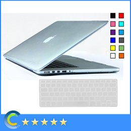 Wholesale Macbook Pro Case Cover Transparent - Transparent Clear Hard Case with Silicone keyboard Cover for New Mackbook 12 inch Retina for Macbook Air Pro Retina 11 13 15 Inch