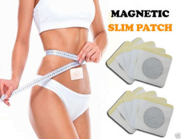 Wholesale Slim Navel Stick - Slim Patch Slimming Navel Stick Magnetic Slim Patches Sharpe Weight Loss Burning Fat Patch Retail Package free shpping