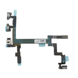 Wholesale Spare Part Phone - Wholesale Mobile Phone Proximity Sensor Power On Off Flex Cable Spare Parts for iPhone 5 5G Free shipping