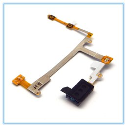 Wholesale Galaxy Volume Button - Original Replacement Speaker Ear Earpiece Audio Volume Button Flex Cable For Samsung Galaxy S3 S III GT-I9300 i9300 Free Shipping