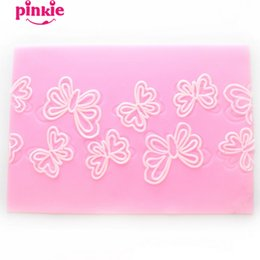 Wholesale Cake Decorating Silicone Lace Molds - Butterfly Lace Shaped silicone fondant molds, silicone cake mould,fondant cake chocolate sugar mold decorating tools wholesale