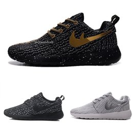 Wholesale Online Media - 2017 online men running shoes Boost factory outlet Men's Jogging Sport Shoes womens shoes sneakers white greey trainers free shipping