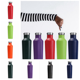 Wholesale Double Wall Travel Mug - Corkcicle Canteen Stainless Steel 500ML Water Bottle Triple Insulated Travel Mug Double Wall Insulated Tumbler Water Bottle 100pcs OOA2973