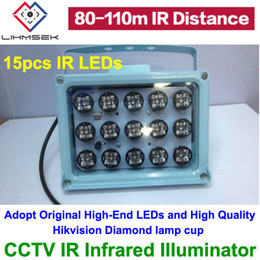 Wholesale Infrared Illuminator For Night Vision - 2016 New Array IR illuminator infrared lamp 15pcs high power 30W ArrayLed IR Light Outdoor Waterproof Night Vision for CCTV Cam