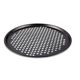 1 pz antiaderente teglia per pizza in acciaio resistente forno teglia piatto forno a microonde teglie torta bakeware strumenti all'ingrosso da piatti a base di forno fornitori