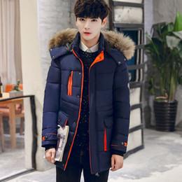 Wholesale Men Full Length Fur Coats - Men's wear in autumn and winter 2017, men's winter wear armband large size coat coat, outdoor hooded man thick imitation fur coat