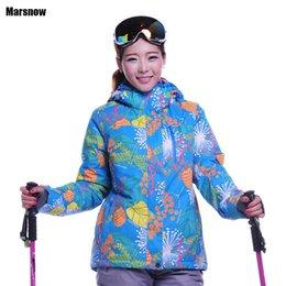 Wholesale Woman Orange Ski Jacket - Wholesale-Dropshipping New hot winter Outdoor jacket skiing jacket waterproof windproof skiing sportswear snowboard jacket women