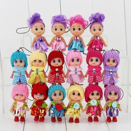 Wholesale Ddung Pendant Dolls - Wholesale-1 Piece Mini Ddung Doll Best Toy Gift For Girl Confused Doll KeyChain Phone Pendant Ornament Style Send By Random