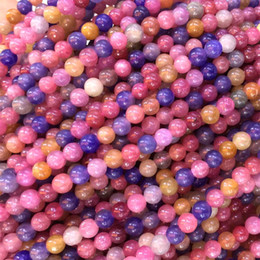 """Wholesale Genuine Yellow Sapphire - Natural Genuine High Quality Natural Genuine Pink Yellow Blue Red Ruby Sapphire Round Small Beads 4mm 15.5"""" 05432"""