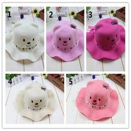 Wholesale Wholesale Sunny Baby - Beautiful Girl Hat 2016 Hot Selling And High Quality Custom New Style Baby Fashion Hat Summer And Spring Popular Baby Sunny Cap A2016009