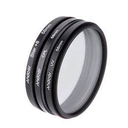 Wholesale 58mm Cpl - New Andoer 58mm Filter Set UV Filter + CPL Filter + Star Filter Kit with Case for Canon Nikon Sony DSLR Camera Lens