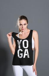 Wholesale Womens Cheap Printed T Shirts - 2016 Cheap Women Sleeveless Letter Printing Sling Vest Womens Clothing Tanks Tops Lady Summer Clothes T-shirt Fashion Woman T shirt