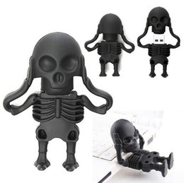 Argentina Skeleton Man Pendrive 1GB 2GB 4GB 8GB 16GB 16GB Flash Drive Capacidad real Memoria USB Stick Opp Bag Suministro