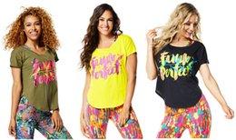 Wholesale Green Dance Shorts - woman dance tops Funk Perfect Tulip Top female tshirt black green color