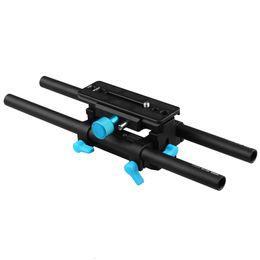 Wholesale Dslr Support Rig - FOTGA DP3000 QR DSLR rail 15mm rod plate support rig for follow focus mattebox HDV(M4).