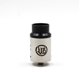 Wholesale Colour Tips - Vape Breed Competition V2 RDA Atomizer Clone Phillppines Dual Post 6 Coil Holes Adjustable Airflow With Wide Bore Drip Tip 3 colours