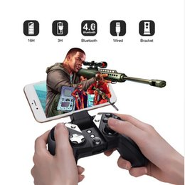 Wholesale Bluetooth Controller Android - 2017 HOTGameSir G4 Bluetooth 4.0 2.4G Wireless Wired nes Gamepad Game Controller snes 800 mAh Capacity for iOS Android PC PS3 0801103