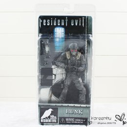 Wholesale Neca Toys Resident Evil - 2016 Naruto Patrulla Canina Toys Juguetes 1 Pcs 7 Inch Neca Hunk 10th Anniversary Resident Evil Archives Series 2 Action Figure New In Box
