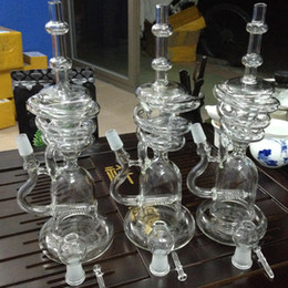 Wholesale Turbine For Sale - Glass Hookahs Smoking Water Bongs with 19 mm Joint Glass Bowl and Turbine Percolators Best Quality Water Pipes for Sale