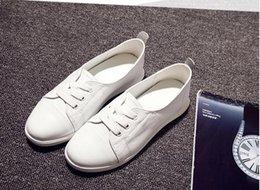 Canada Haute qualité femmes chaussures en cuir véritable chaussures d'été chaussures blanches femmes chaussures plates mode et nouveau style Offre