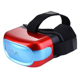 Wholesale Head Games Movie - All in one VR headsets Virtual Reality Glasses Wifi Bluetooth Android 5.1 Mobile 3D Cinema VR Box Head Mount 3D Movie Game Glasses B-XY