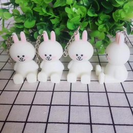 Wholesale Horse Key Rings - Cartoon doll Keyring Cellphone Charms Handbag Pendant Kids Gift Toys Phone Decoration Accessory Horse Key Ring Silicone Stand Holder DHL