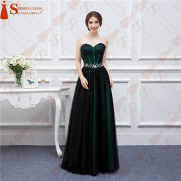 Wholesale Op Shorts - Sweetheart Tulle 2016 Free Shipping Vestidos de Noiva Off the Shoulder Bridesmaid Dresses Floor-Length OP-56 Prom Dresses Formal Evening