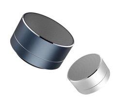 Argentina Nuevo Moderno Aleación De Aluminio Cilindro A10 Mini Altavoz Inalámbrico Bluetooth Altavoz Llamadas Manos Libres Tarjeta TF Música Subwoofer Bajo Altavoz Estéreo Suministro