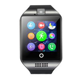 apro smart watch Скидка 2017 NFC смарт-часы Q18 1.54 HD дюймовый сенсорный экран камеры smartwatch поддержка SIM-карты TF для IOS и Android HTC телефон против APRO Q18S OTH289