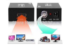 Wholesale Hd Sdi Hdmi Converter - Wholesale 3G MINI HDMI to SDI SD-SDI HD-SDI 3G-SDI Converter HD 1080P Video Converter 2.970 Gbit s_ DHL Free shipping
