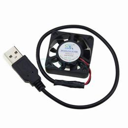 Gros-2pcs / lot Gdstime 4010S Micro 40x40x10mm 40mm DC ventilateur de refroidissement sans brosse 5V Connecteur USB 9 lames ? partir de fabricateur