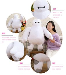Wholesale Hero Low Price - Low price Super Marines Big Hero 6 Baymax Robot Hands Moveable Stuffed Plush Animals Toys Valentine's Day   Birthday  New Year's gift