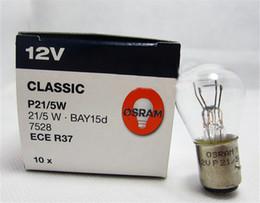 Wholesale H7 Globe - The Brake Car Lights 10 PACK 380 BRAKE LIGHT STOP AND TAIL CAR BULBS LAMPS 12V 21 5W BAY15D H7 Car Headlight Bulbs Taillight Fog Lamps