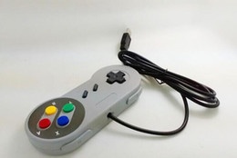 Wholesale Usb Controllers For Pc - 50pcs Wholesale- Retro Gaming for SNES USB Wired Classic GamePad Joystick Controller For Windows PC Six digital buttons