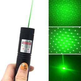 Wholesale Green Laser Charger - 303Laser Pointers High Power Starry Sky Pattern 2 Mile Green Red Purple with Battery Charger Visible Beam Laser PointerPen