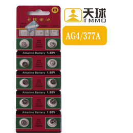 Wholesale Wholesale Toy Used - Button Cell Coin batteries LR626 AG4 377 Watch battery Use in Toy remote control car telecontroller Mini Fan electronic dictionary Wholesale