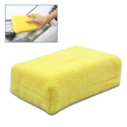 Wholesale Order Microfiber - 100% High Quality Car Stying Professional Microfiber Car Cleaning Sponge Cloth Multifunctional Wash Washing Cleaner Cloths order<$18no track