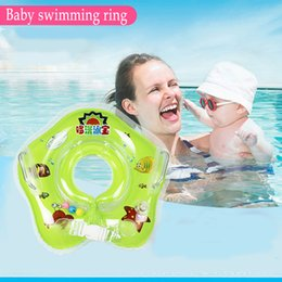 Wholesale Toddler Pool Floats - Summer Hot Sale Cute Inflatable Toddler Baby Swim Ring Infant Swimming Pool Water Float Seat with Floret Sun-shading