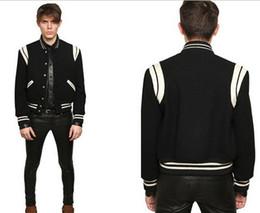 Wholesale Mens Star Jacket - Fall-2015 Fashion High Quality Star Looks Fashion Mens Letterman Jackets For Men Hip Hop Hoodies Baseball Varsity Jacket