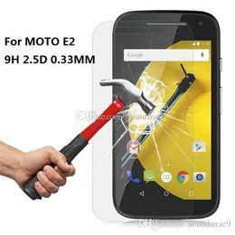 Wholesale Protector Moto X - 0.33mm 9H 2.5D Premium Tempered Glass screen Protector flim guard For moto E E2 MOTO G2 G3 G4 PLAY PLUS MOTO X X2 X3 With Retail-box
