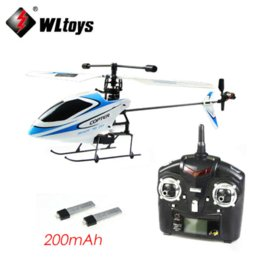 Wholesale Blade Rtf - Newest WLtoys WL Upgraded Version V911 4CH 2.4G Single Blade Propeller Mini Radio RC Helicopter w GYRO RTF Outdoor